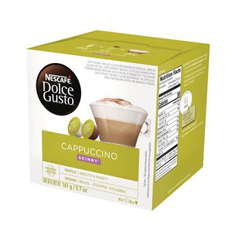 Dolce Gusto® Skinny Cappuccino Coffee Capsules, 16/BX