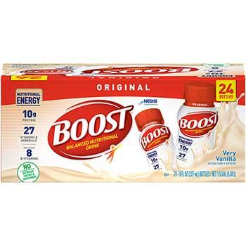 BOOST® Balanced Nutritional Drink, Vanilla, 8 oz., 24/PK