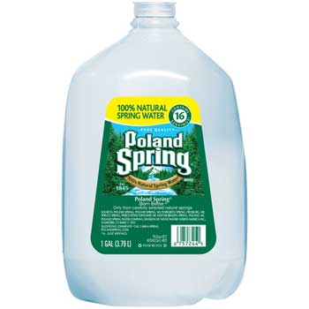 Poland Spring® Natural Spring Water, 1 Gallon, 6/CT