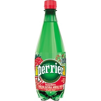 Perrier® Sparkling Mineral Water, Strawberry, 16.9 oz., 24/CS