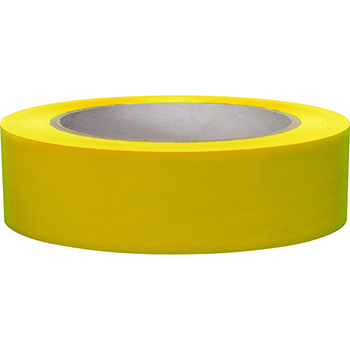 """NMC™ 6 Mil Vinyl Safety Tape, Solid Yellow, 2"""" x 108'"""