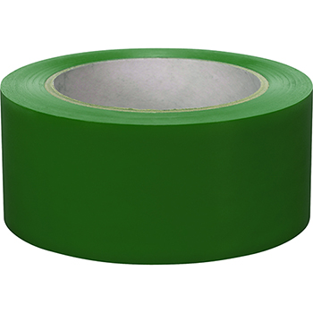 "NMC™ 6 Mil Vinyl Safety Tape, Solid Green, 3"" x 108'"