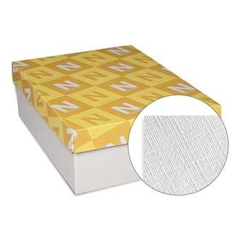 Neenah Paper Neenah Classic Linen #10 Envelopes, Avon Brilliant White, 24 lb, 500/BX