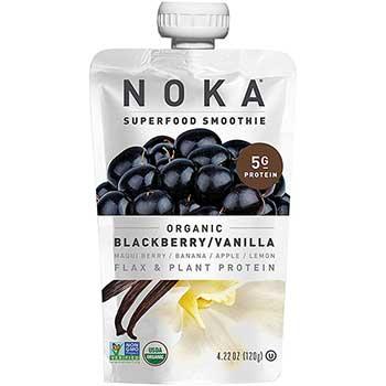 Blackberry Vanilla Superfood Pouch, 4.22 oz., 6/BX