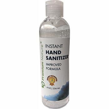 Hand Sanitizer, 8 oz. Flip Top Bottle