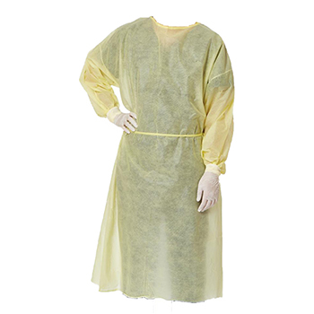 W.B. Mason Co. Isolation Gown, Disposable, Level 1
