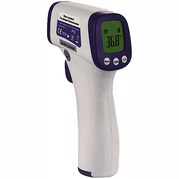 No-Touch Infrared Forehead Thermometer, Premium