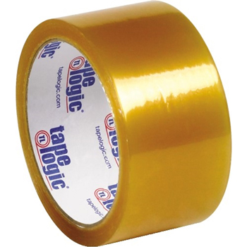 "Natural Rubber Tape, 2.2 Mil, 2"" x 110 yds., Clear, 36/CS"