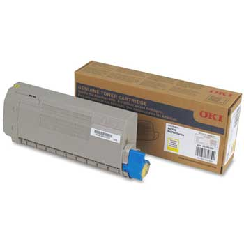 Oki® Black Toner Cartridge, F/MC770/MC880, 15,000 Page-Yield