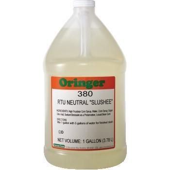 Oringer Neutral Slush Base, 1 Gallon