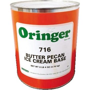 Oringer Butter Pecan Base, #10 Can, 6/CS