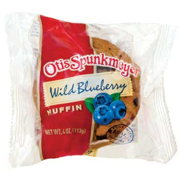 Otis Spunkmeyer® Blueberry Muffins, 4 oz., 24/CS