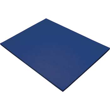 Tru-Ray Construction Paper, 76 lbs., 18 x 24, Dark Blue, 50 Sheets/Pack