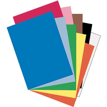 Pacon® Riverside Construction Paper, 76 lbs., 18 x 24, Assorted, 50 Sheets/Pack