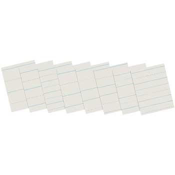 """Pacon® Skip-A-Line Ruled Newsprint Paper, 11"""" x 8-1/2"""", 500/RM"""