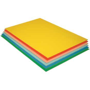 "Pacon® Value Foam Boards, 30"" x 20"", Assorted, Matte Finish, 12/PK"