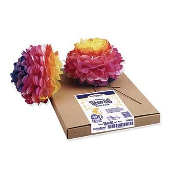 KolorFast® Tissue Flower Kit, Assorted Colors, 84/PK