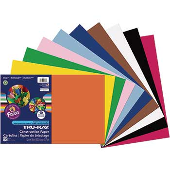 "Tru-Ray Bulk Assortment, 12"" x 18"", 250/PK"