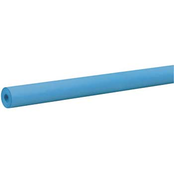 "Pacon® Rainbow Colored Kraft Duo-Finish Paper, 36"" x 100', Brite Blue"