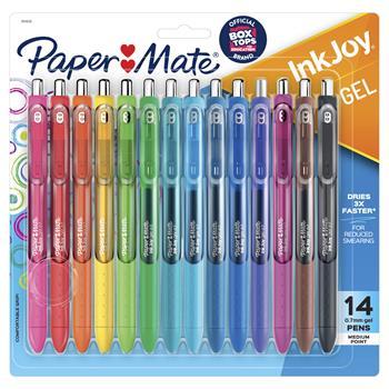 Paper Mate® InkJoy Gel Pen, Assorted Ink,  0.7mm, 14/Pack