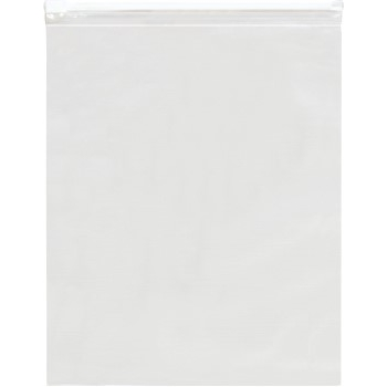"""Slide-Seal Reclosable 3 Mil Poly Bags, 9"""" x 12"""", Clear, 250/CS"""