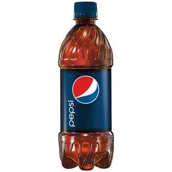 Pepsi® Cola, 20 oz. PET Bottles, 24/CS
