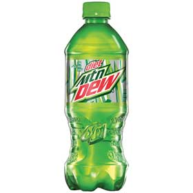Mountain Dew® Diet Soda, 20 oz. PET Bottles, 24/CS