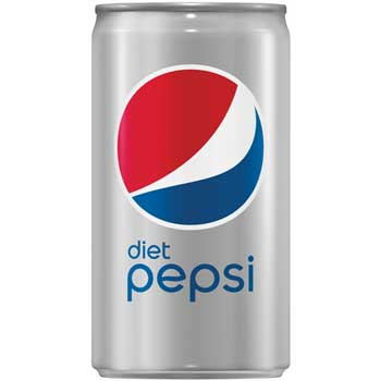 Diet Pepsi® Cola, 7.5 oz. Cans, 24/CS