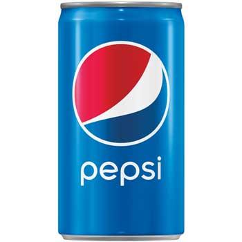 Pepsi® Cola, 7.5 oz. Cans, 24/CS