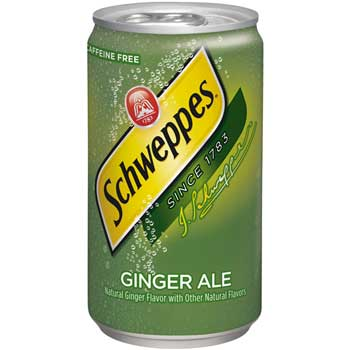Ginger Ale, 7.5 oz. Cans, 24/CS