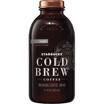 Starbucks® Cold Brew, Black Unsweetened, 11 oz., 12/CS