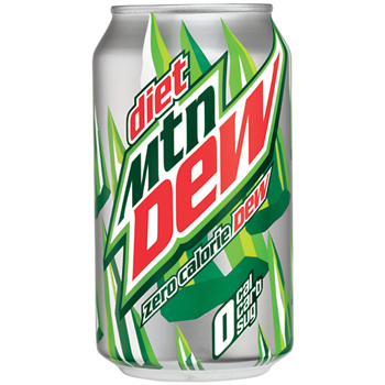 Diet Soda, 12 oz. Can, 12/PK