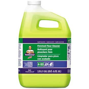 Mr. Clean® Finished Floor Cleaner, 1 gal. Bottle, Lemon Scent