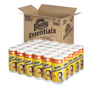 Essentials Paper Towels, 10.19 x 10.98, 2-Ply, 40/Roll, 30 Roll/CT