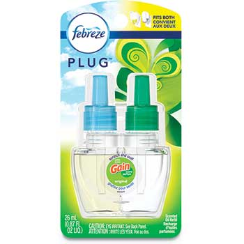 PLUG Air Freshener Refills, Gain Original, 0.87 oz
