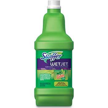 Swiffer® WetJet System Cleaning-Solution Refill, 1.25 Liter, Gain Scent, 4/Carton