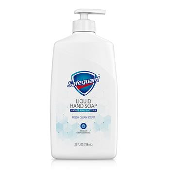 Safeguard® Liquid Hand Soap, Micellar Deep Cleansing, Fresh Clean Scent, 25 oz.