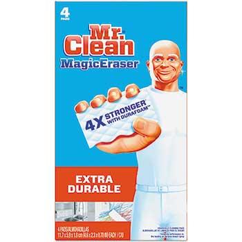"Magic Eraser Extra Durable, 4 3/5"" x 2 2/5"", 4/BX"