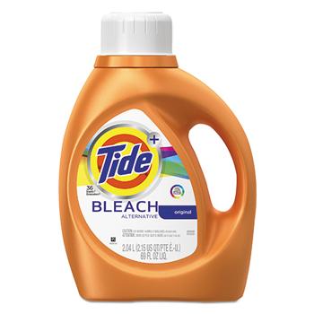 Tide® Liquid Laundry Detergent plus Bleach Alternative, Original Scent, 69 oz Bottle, 4/CT