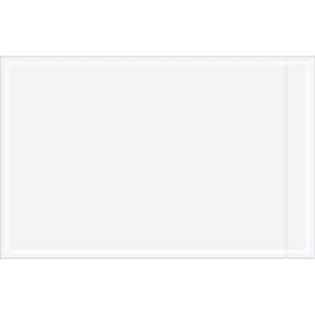 "Tape Logic® Clear Face Document Envelopes, 5 1/8"" x 8"", Clear, 1000/CS"