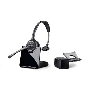Plantronics® CS510/HL10 Monaural Over-the-Head Wireless Headset