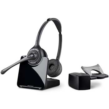 Plantronics® CS520/HL10 Binaural Over-the-Head Wireless Headset