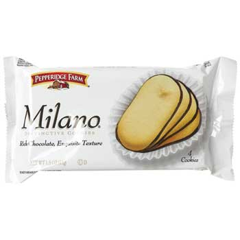 Pepperidge Farm® Milano® Cookies, Original 4-Count, 1.5 oz., 60/CS