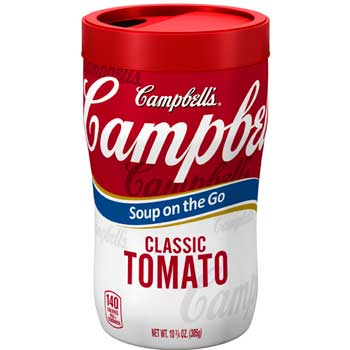 Campbell's® Soup-on-the-Go, Classic Tomato, 10.75 oz., 8/CS