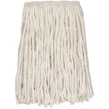 "ABCO Cotton Cut End Wet Mops, #16, White, 5"" Headband"