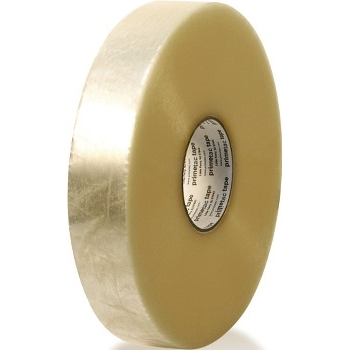 "Machine Length Tape, Hot Melt, 2"" x 1000yds, 1.9mil, 6/CS"