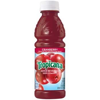 Tropicana® Juice Beverage, Cranberry, 10 oz Bottle, 24/Case