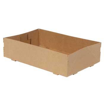 "Quality Carton Tray, Model A, 10"" x 6 1/2"" x 2 1/2"", 250/CT"