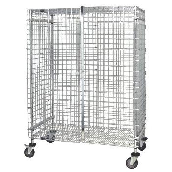 """Quantum® Storage Systems Stem Caster Security Unit, 24""""W x 60""""L"""