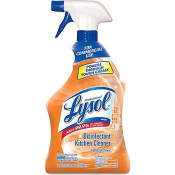 Disinfectant Kitchen Cleaner, 32 oz. Bottle, Citrus Scent, 12/CT
